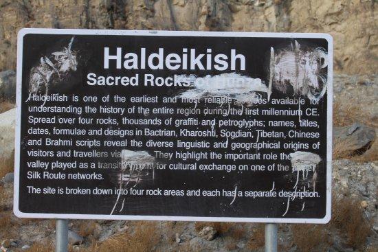 Sacred Rocks of Hunza