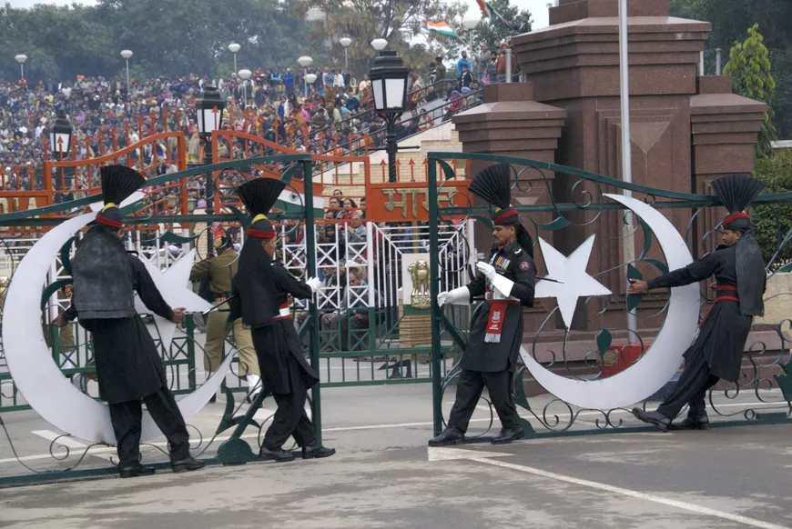 Wagah Border Lahore 2