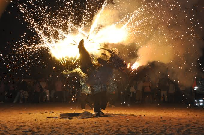 "The Night of Fire"" Festival of Sant Joan"