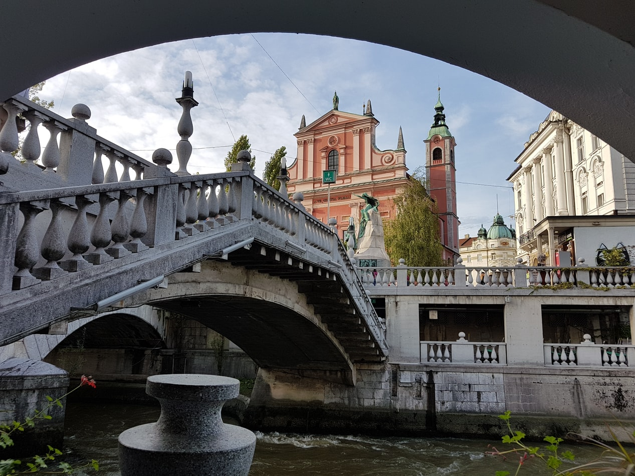 Ljubljana Slovenia - Best places to spend Christmas holidays in Europe
